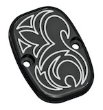 Arlen Ness Engraved Rear Brake Master Cylinder Cover For Harley Touring 2008-2015