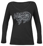 Speed and Strength Women's American Beauty L/S V-Neck