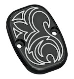 Arlen Ness Engraved Rear Brake Master Cylinder Cover For Harley Softail 2005-2017