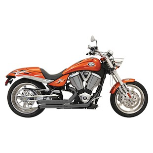 Bassani Pro-Street Turn-Out Exhaust System For Victory Models 2006-2014