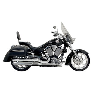 Bassani Pro-Street Exhaust With End Cap For Victory 2002-2005