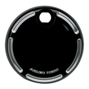 Arlen Ness Slot Track Fuel Door Cover For Harley Touring 2008-2017