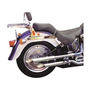 Cycle Shack Slip-On Replacement Slash-Cut Mufflers For Harley Softail 1995-1999