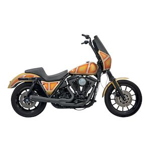 Bassani Road Rage 2-Into-1 Exhaust For Harley FXR 1984-2000