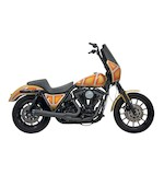 Bassani Road Rage 2-Into-1 Exhaust System For Harley FXR 1984-2000