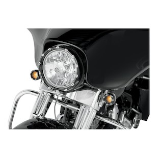 Arlen Ness LED Fire Ring For Harley Batwing Bikes 1984-2014