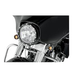 "Arlen Ness 7"" LED Fire Ring For Harley Batwing Fairing 1984-2015"