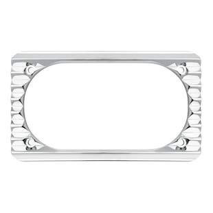 Arlen Ness Retro License Plate Frame
