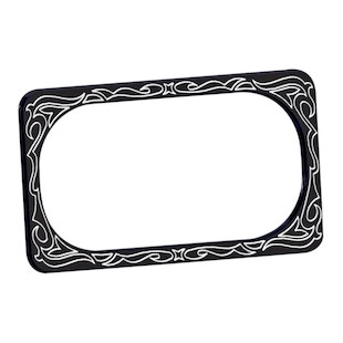 Arlen Ness Engraved License Plate Frame