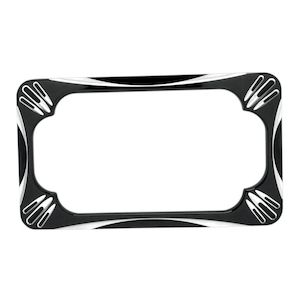 Arlen Ness Deep Cut License Plate Frame