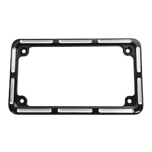 Arlen Ness Slot Track License Plate Frame