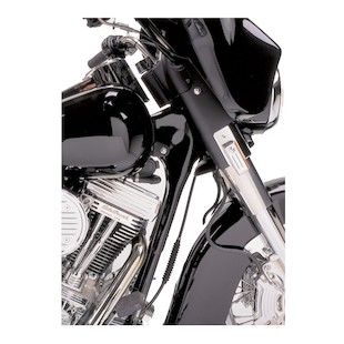 Arlen Ness Neck Cover Set For Harley Touring 1993-2007