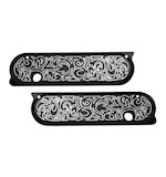 Arlen Ness Engraved Saddlebag Latch Covers For Harley Touring 1993-2013