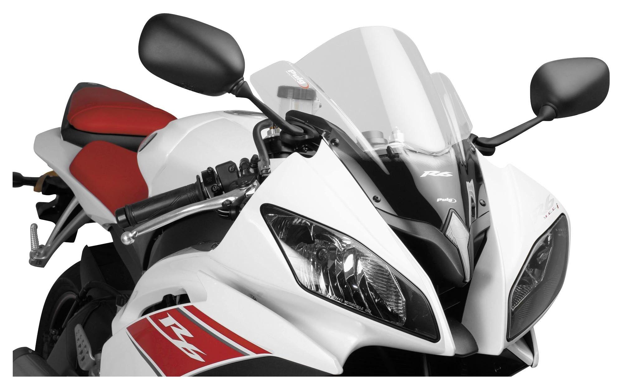 Puig Racing Windscreen Yamaha R6 2008-2016 | 5% ($5 28) Off