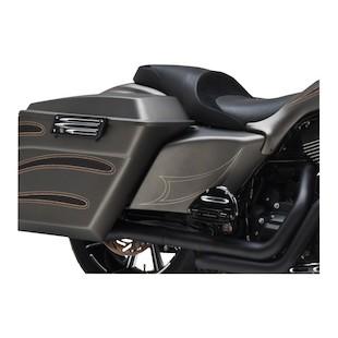 Arlen Ness Side Cover Set For Harley Touring