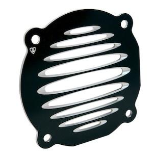 Arlen Ness Deep Cut Flat Front Speaker Grills For Harley Touring 1996-2013