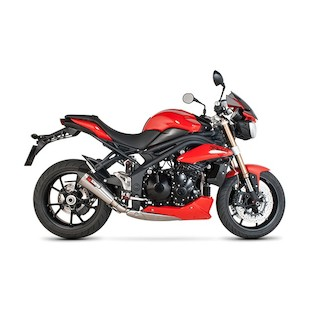 Scorpion Serket Taper Slip-On Exhaust Triumph Speed Triple 2011-2014