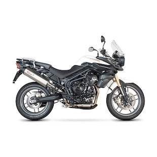 Scorpion Serket Parallel Slip-On Exhaust Triumph Tiger 800 / XC / XCX / XR / XRX