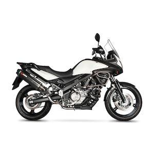 Scorpion Serket Parallel Slip-On Exhaust Suzuki V-Strom 650 2012-2016