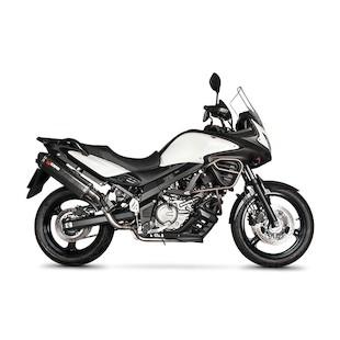 Scorpion Serket Parallel Slip-On Exhaust Suzuki V-Strom 650 2012-2015