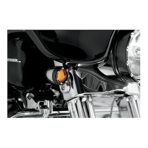 arlen ness led fire ring deuce style turn signal trim rings for harley amber - Fire Rings