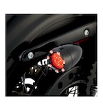 Arlen Ness LED Fire Ring Deuce Style Turn Signal Trim Rings For Harley