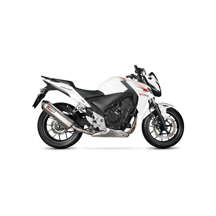 Scorpion Serket Parallel Slip-On Exhaust Honda CBR500R / CB500X / CB500F