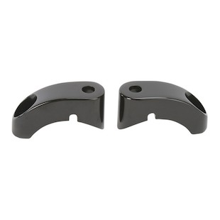 Arlen Ness Front Turn Signal Relocation Mounts For 39mm & 49mm Harley Forks