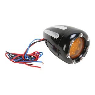 Arlen Ness LED Deep Cut Fire Ring Dual-Function Marker Light For Harley