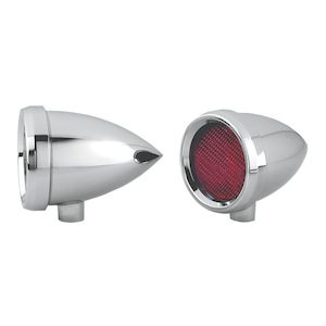 Arlen Ness LED Smooth Speeding Bullet Marker Light For Harley