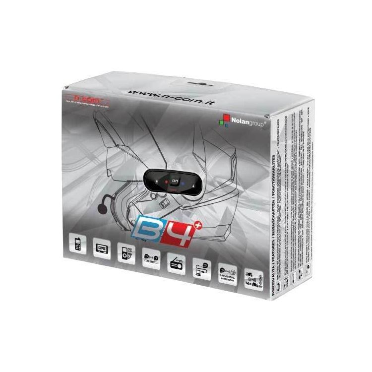 Nolan N-Com B4 Plus Bluetooth Kit for N104/N44/N40 Helmets
