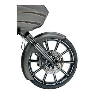 Arlen Ness Deep Cut Hot Legs Fork Lower Set For Harley Touring 2008-2013