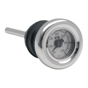 Drag Specialties Oil Plug Temp Gauge For Harley