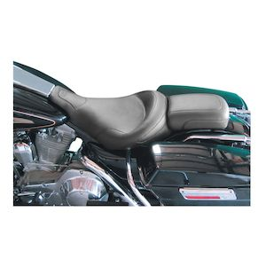 Mustang Solo Passenger Seat For Harley Touring 2009-2018