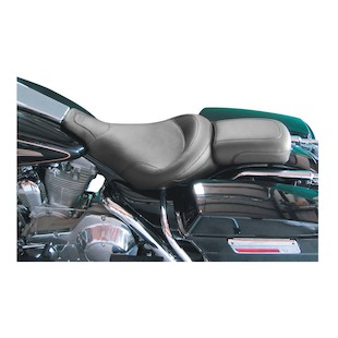Mustang Solo Passenger Seat For Harley Touring 1997-2015