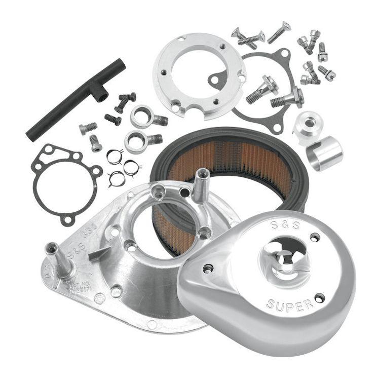 S&S Teardrop Air Cleaner Kit For Harley EFI