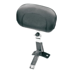Mustang Driver Backrest Kit For Harley Touring 2009-2015