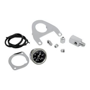 Drag Specialties Oil Pressure Gauge Mount Kit For Harley Twin Cam 1999-2017