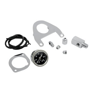 Drag Specialties Oil Pressure Gauge Mount For Harley Twin Cam 1999-2015