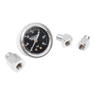 "Drag Specialties 1 3/4"" Liquid-Filled Oil Pressure Gauge"