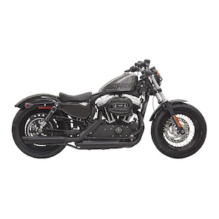 "Bassani 3"" Firepower Series Slip-On Mufflers For Harley Sportster 2014-2017"