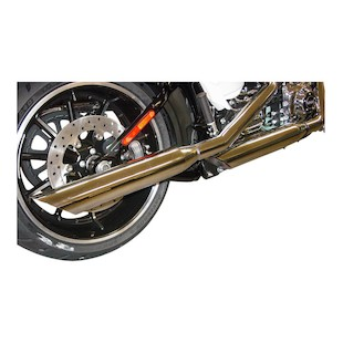 "Cycle Shack 3.25"" Slip-On Mufflers For Harley Softail 2011-2016"