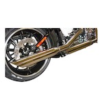"Cycle Shack 3.25"" Slip-On Mufflers For Harley Softail 2011-2015"