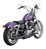 "Drag Specialties 2.5"" Slash-Cut Slip-On Muffler For Sportster 2014"