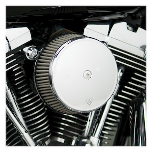 Arlen Ness Stage 1 Big Sucker Air Cleaner Kit For Harley Evolution 1993-2000 Stainless Jacketed Air F... [Open Box]