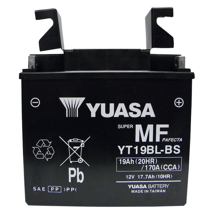 Yuasa YT19BL-BS AGM Battery