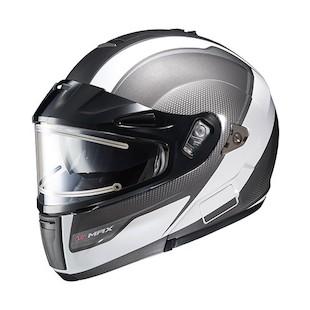 HJC IS-MAX BT Sprint Snow Helmet - Electric Shield White/Grey / XL [Blemished]