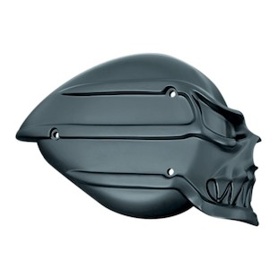 Kuryakyn Skull Air Cleaner Cover For Harley S&S Teardrop