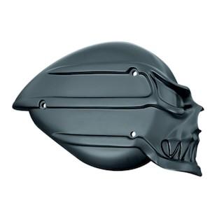 Kuryakyn Skull Air Cleaner Cover For Harley S&S Teardrop