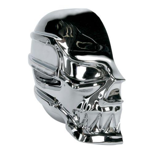 Skull Air Cleaner : Kuryakyn skull air cleaner for harley sportster